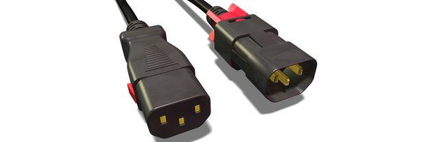 Kabel Quelle Stromversorgung Anschluss Iec C13 und Shucko Macho.ordenador