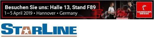 Hannover Messe Starline Stromschiene