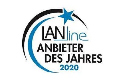 LANline Anbieter des Jahres 2020