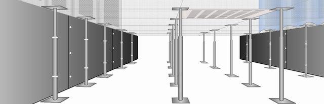 Raised Floor Airflow Daxten - Data center raised floor weight limits