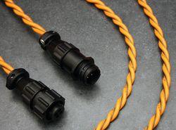 RLE sensing cable for conductive fluids